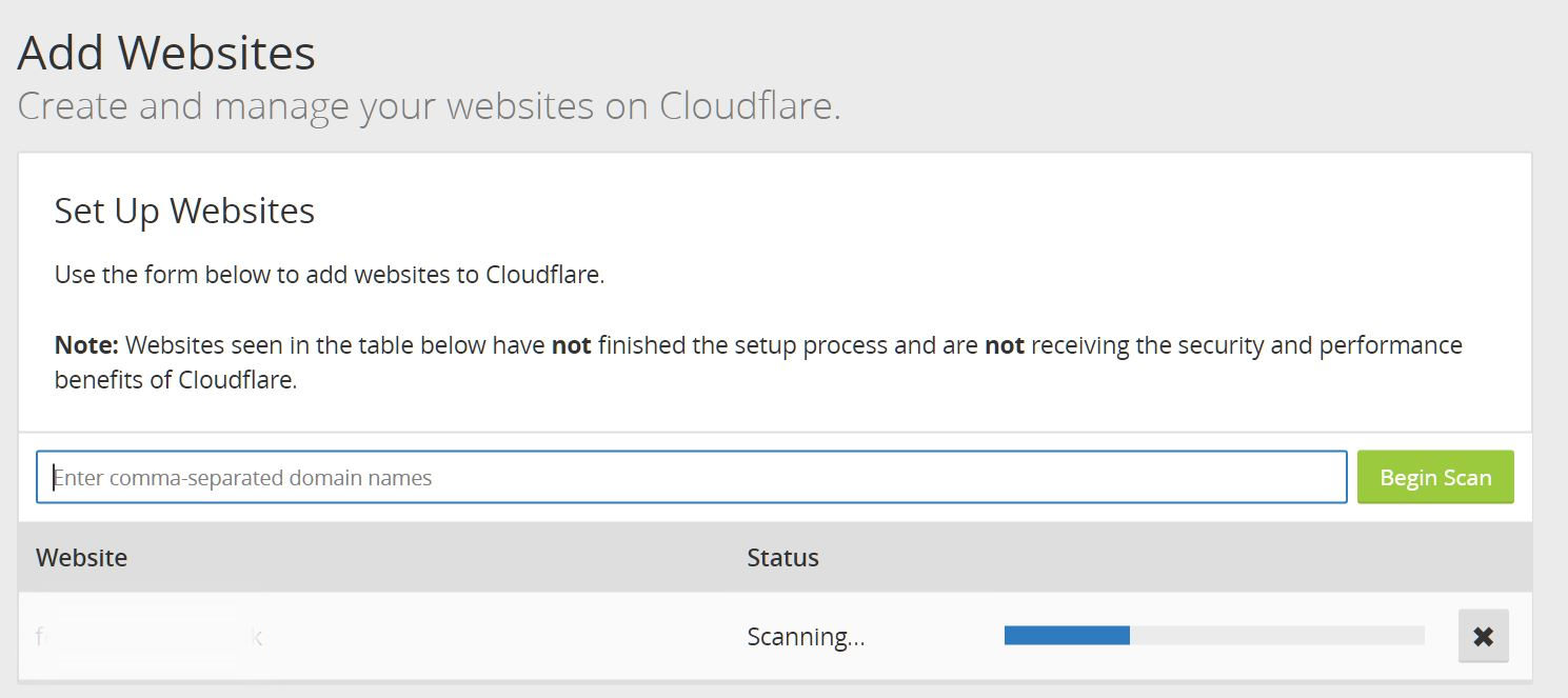 CloudFlare Scan