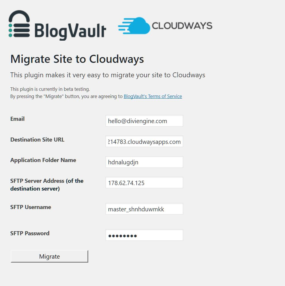 Gtmetrix score cloudways