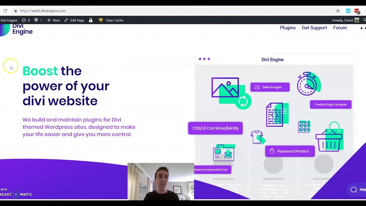 How To Clear My Cache On Wordpress Divi 2019 Divi Engine