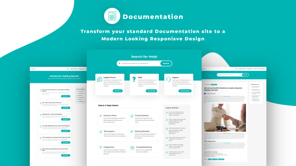 Documentation Layout Featured
