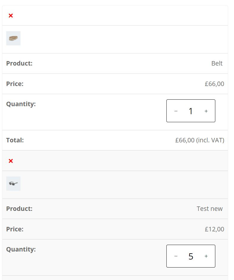 Show product images in WooCommerce cart on mobile
