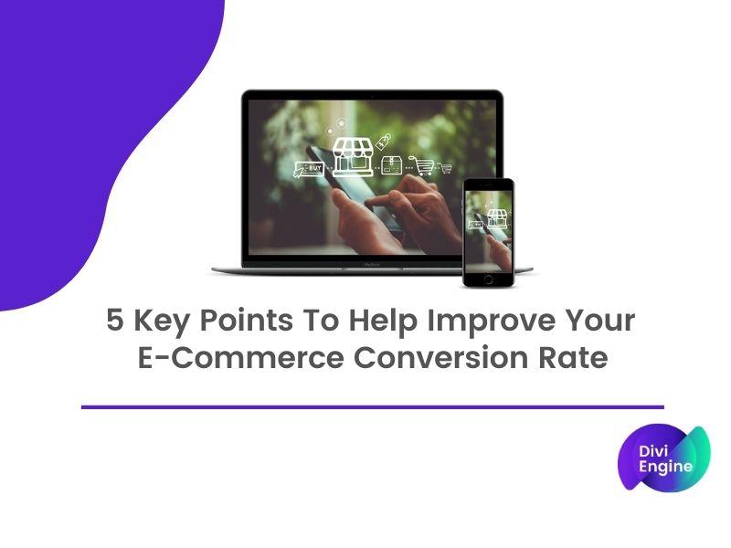 Improve Your E-Commerce Conversion Rate.