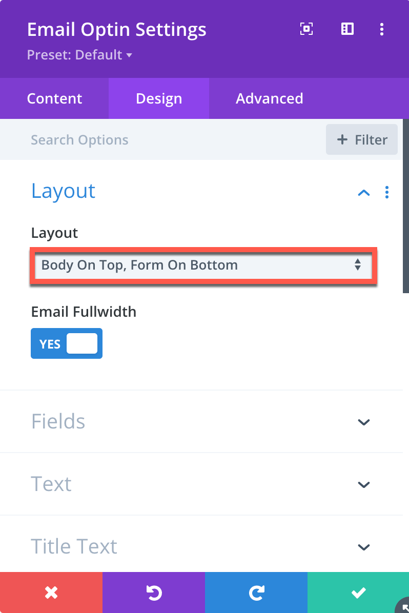 Divi Category Page Opt-in Module Design