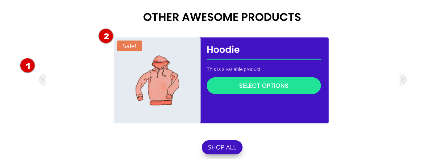 Single Product Page with BodyCommerce