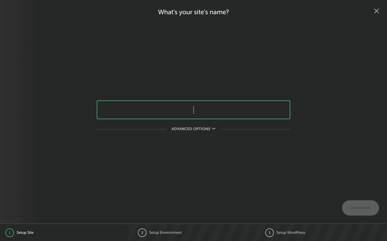 New Local Site