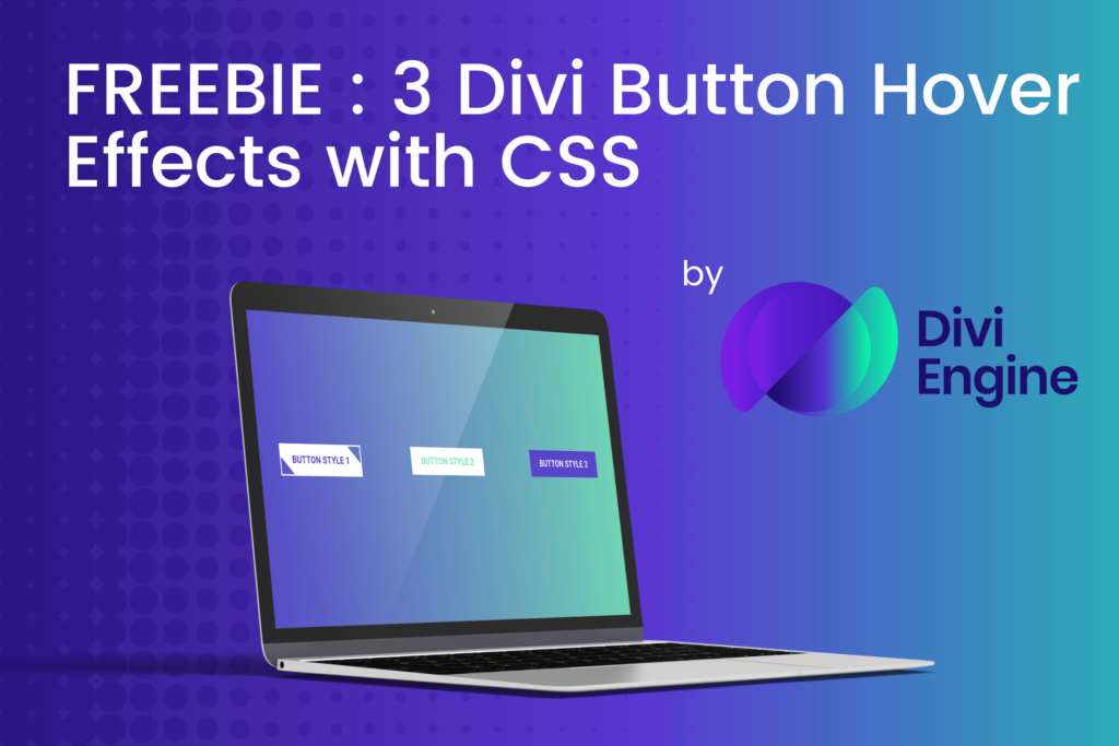 FREE Divi Button Modules with unique Hover Effects