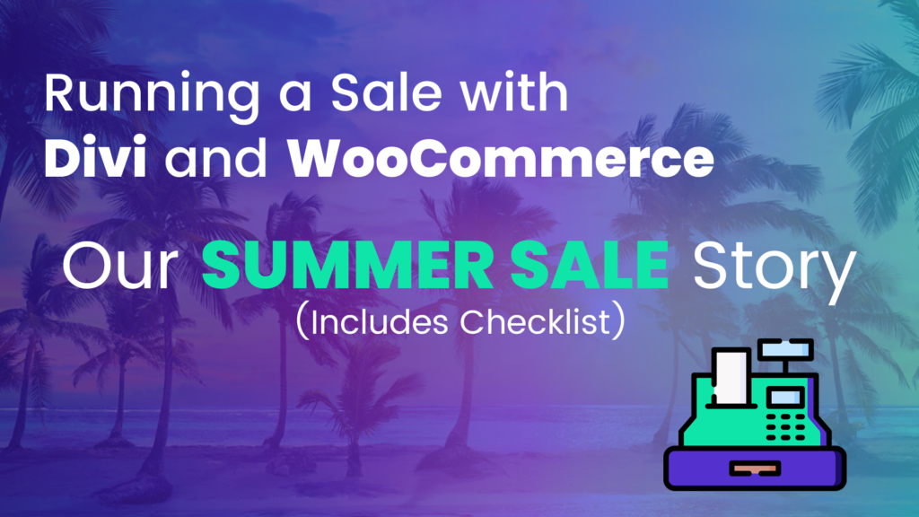 Running a sale with Divi and WooCommerce