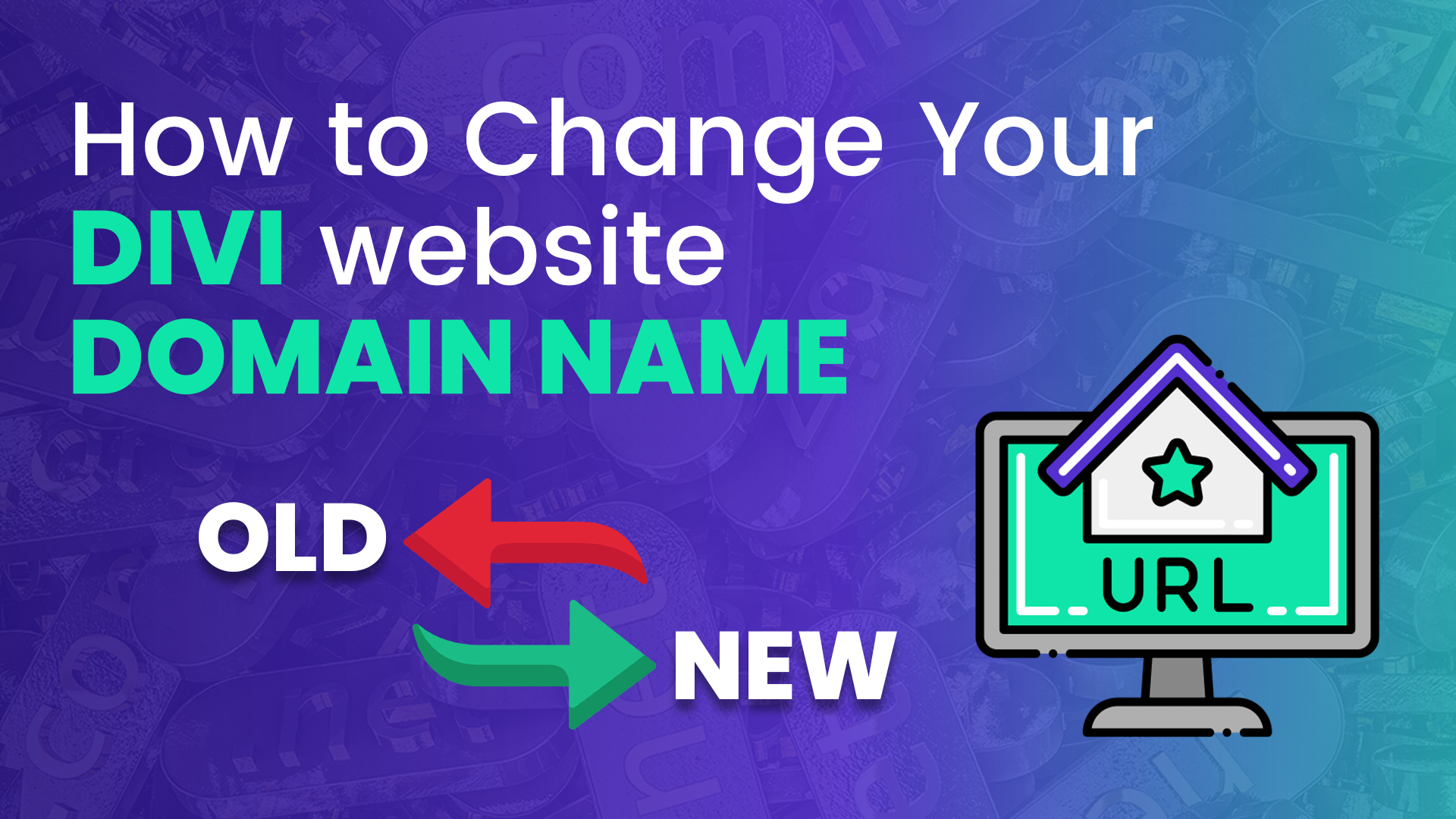 How to Change Your DIVI website  DOMAIN NAME