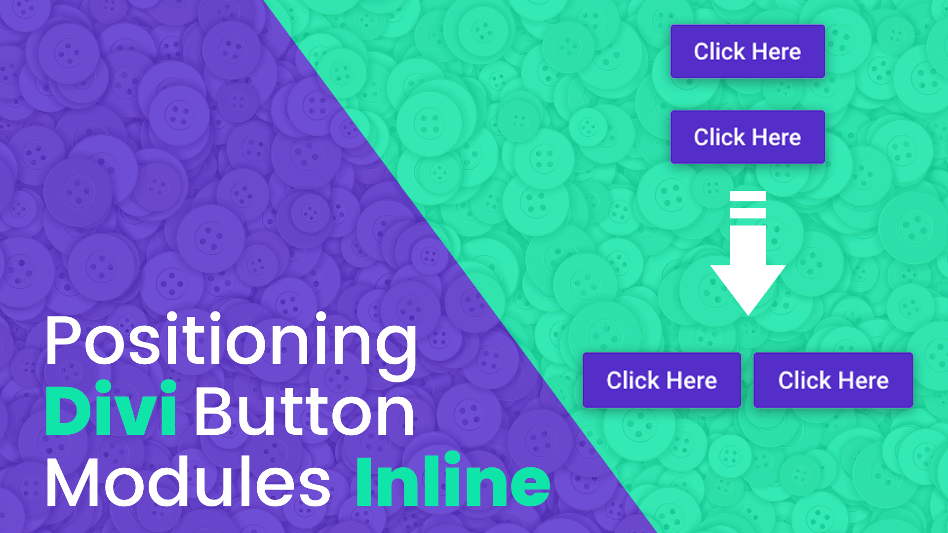 Add Two Divi Button Modules Inline Next to Each Other