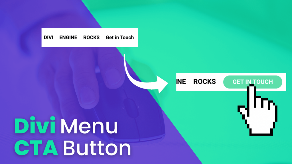 How to add a Call To Action Button to Divi Menu