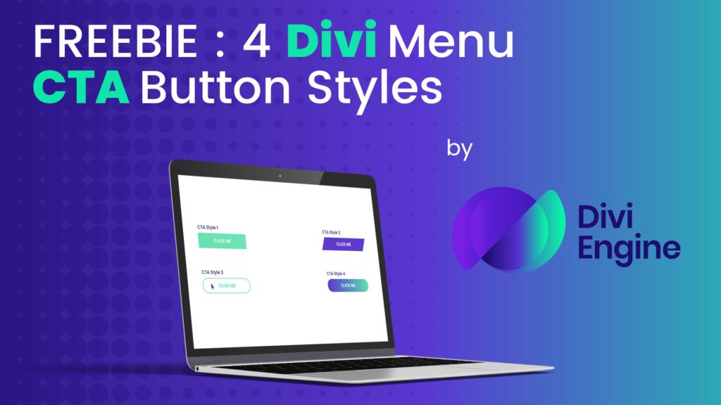 4 Styles for Your Divi Menu CTA Button